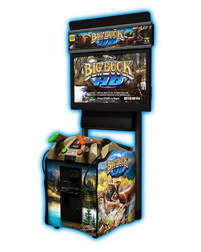 Big Buck Hunter HD 32 inch game at Joystix