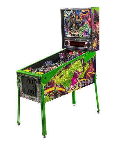 Ghostbusters Limited Edition pinball at Joystix 2