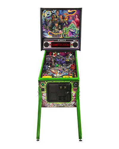 Ghostbusters Limited Edition pinball at Joystix 3