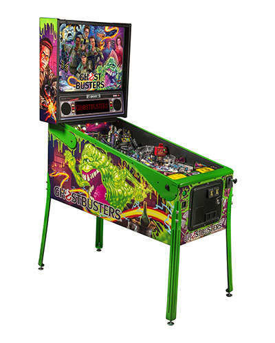 Ghostbusters Limited Edition pinball at Joystix