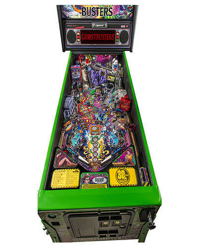 Ghostbusters Limited Edition pinball details at Joystix 1