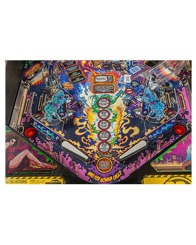 Ghostbusters Limited Edition pinball details at Joystix 2