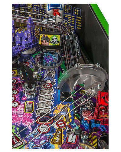 Ghostbusters Limited Edition pinball details at Joystix 3