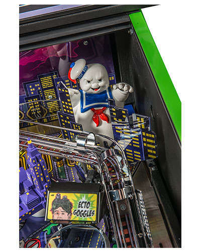 Ghostbusters Limited Edition pinball details at Joystix 4