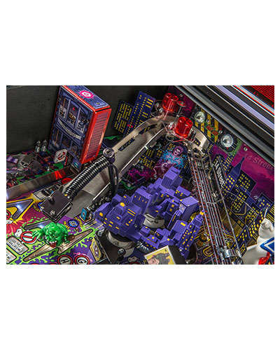 Ghostbusters Limited Edition pinball details at Joystix 5