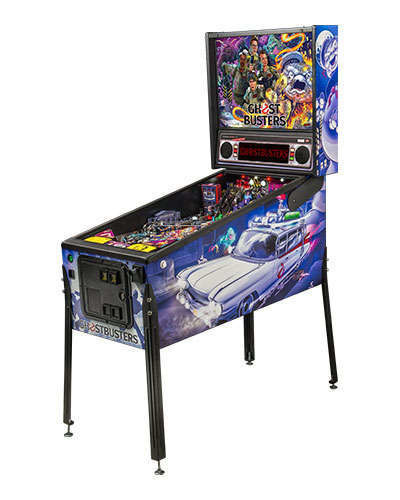 Ghostbusters Premium pinball at Joystix 2