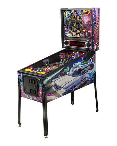 Ghostbusters Pro pinball at Joystix 2