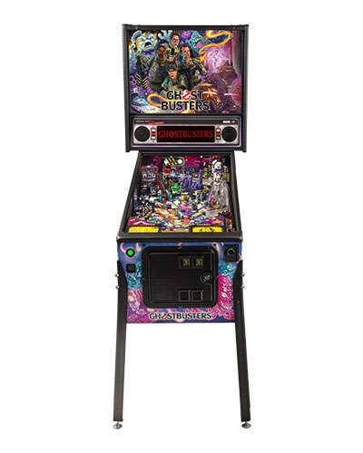Ghostbusters Pro pinball at Joystix 3