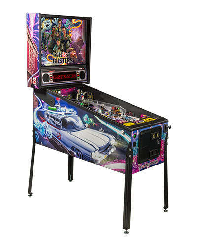 Ghostbusters Pro pinball at Joystix