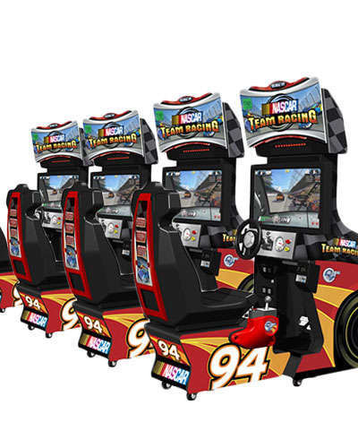 Nascar Team Racing Linked at Joystix