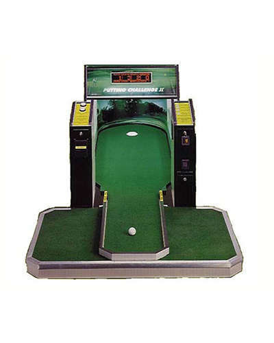 Putting Challenge 2 game at Joystix