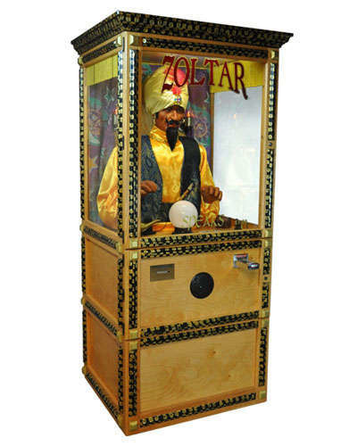 Zoltar Fortune Teller Machine at Joystix