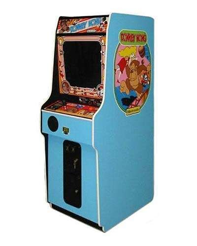 Donkey Kong arcade game at Joystix