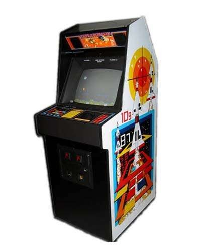 Missle Command arcade game at Joystix