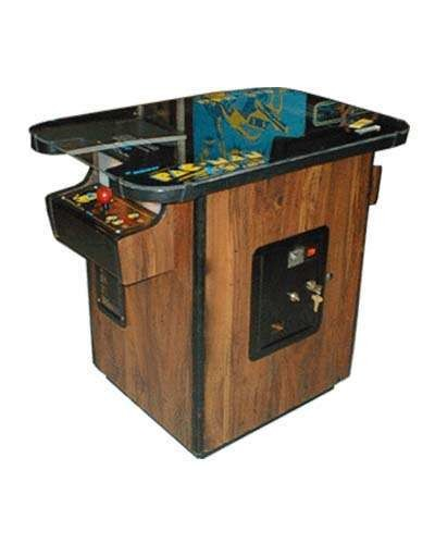 Pac Man cocktail arcade game at Joystix
