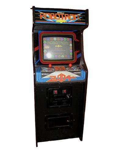 Robotron arcade game at Joystix