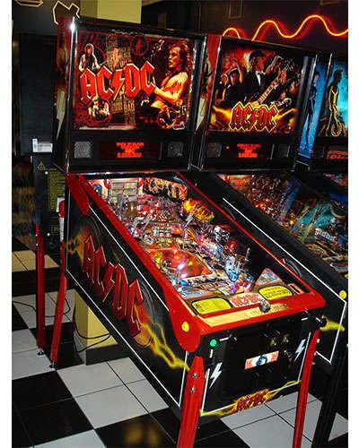 AC DC Premium pinball at Joystix 2