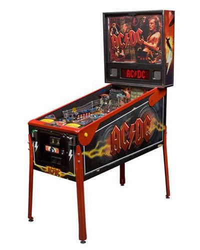 AC DC Premium pinball at Joystix
