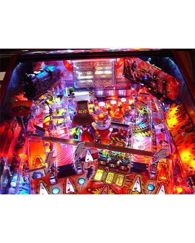 AC DC Premium pinball details at Joystix 2