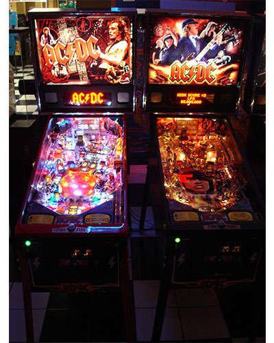 AC DC Premium pinball details at Joystix 3