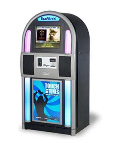 Allegro Touch Tunes Jukebox at Joystix