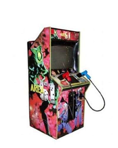 Area 51 arcade game at Joystix