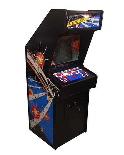 Asteroids Arcade Game at Joystix