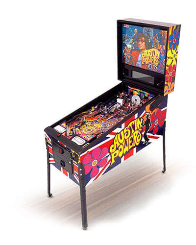 Austin Powers pinball at Joystix