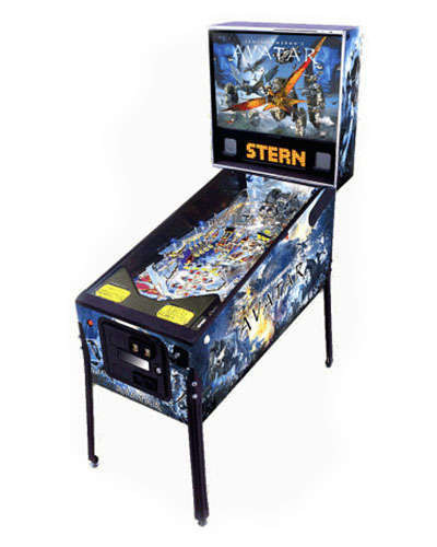 Avatar LE pinball at Joystix