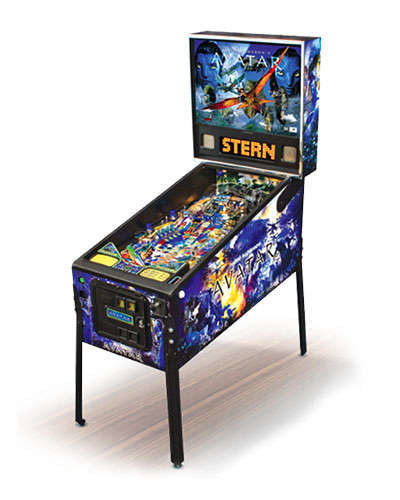 Avatar pinball machine at Joystix