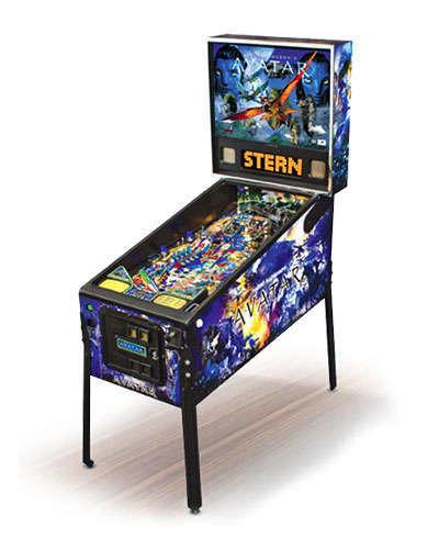 Avatar pinball machine at Joystix