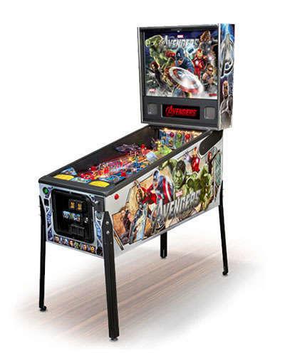 Avengers Premium pinball at Joystix