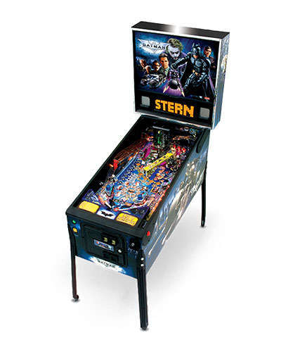 Batman The Dark Knight pinball at Joystix