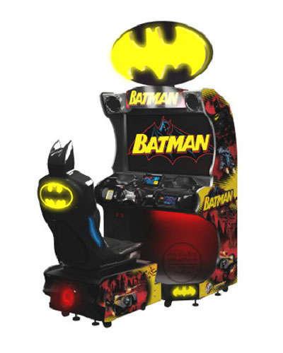 Batman Racing Game at Joystix