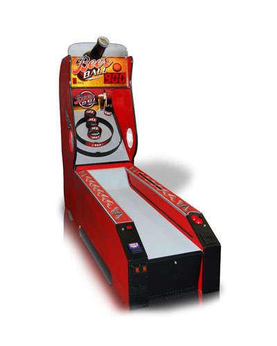 Beer Ball Alley Roller sports game at Joystix