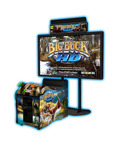 Big Buck Hunter HD 50 inch game at Joystix