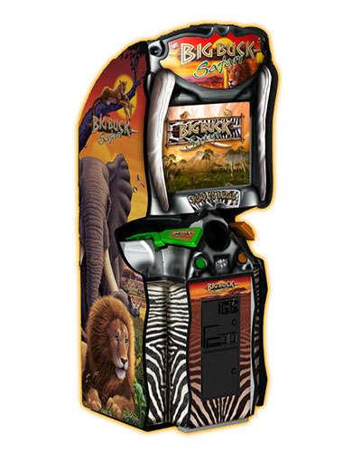 Big Buck Hunter Safari sports game at Joystix