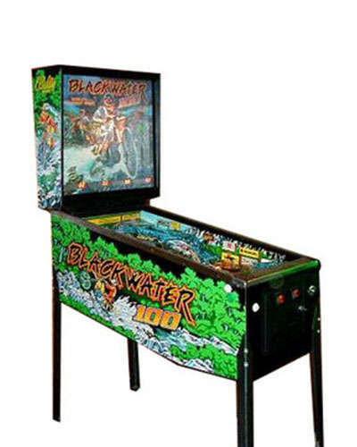 Blackwater 100 pinball at Joystix