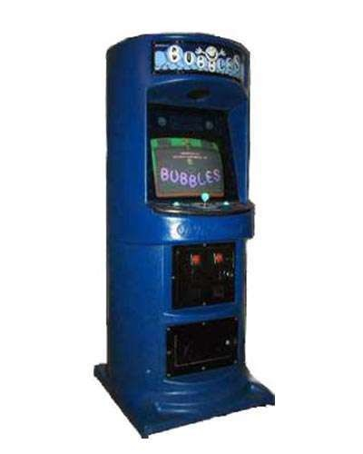 Bubbles arcade game at Joystix