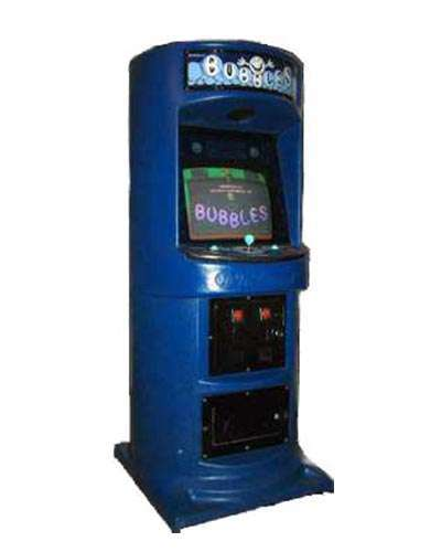 Bubbles arcade game at Joystix