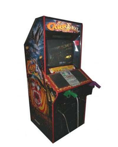 Carnevil arcade game at Joystix