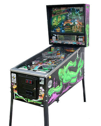 Creature from the Black Lagoon pinball at Joystix
