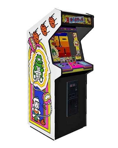 Dig Dug arcade game at Joystix