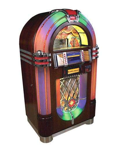 Digital Bubbler Jukebox at Joystix