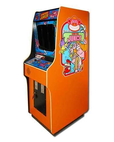 Donkey Kong Jr arcade game at Joystix