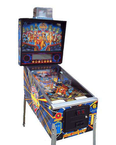 Dr. Who pinball at Joystix