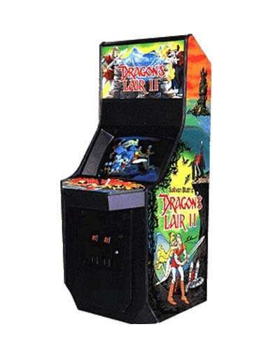 Dragons Lair II arcade game at Joystix