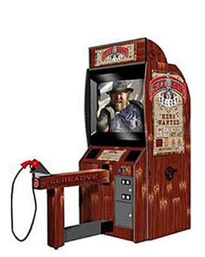Fast Draw arcade game at Joystix