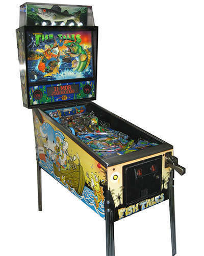 Fish Tales pinball at Joystix