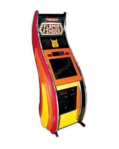 Flamin Finger game at Joystix